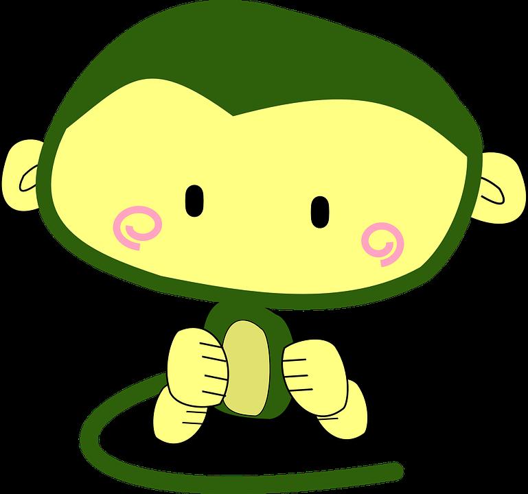 100 Gambar Animasi Monyet Lucu Paling Keren