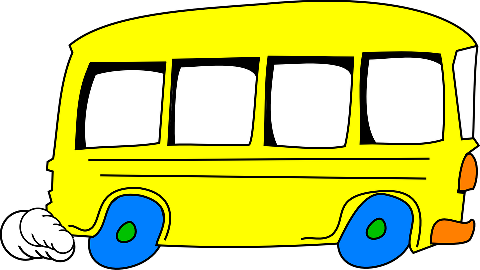 schoolbus yellow driving free vector graphic on pixabay rh pixabay com Funny School Bus Clip Art Yellow School Bus Clip Art