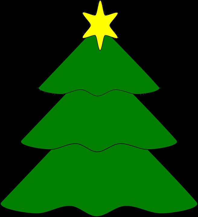 Árbol Estrellas Navidad · Gráficos vectoriales gratis en Pixabay