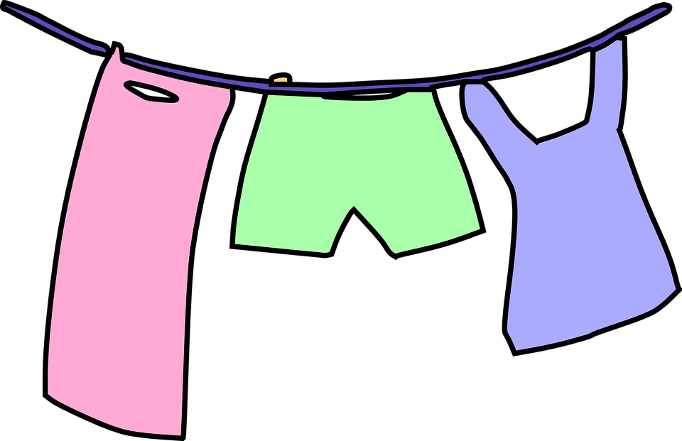 clothesline laundry drying free vector graphic on pixabay rh pixabay com  baby clothes clipart png