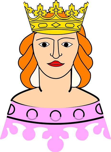Free Vector Graphic Queen, Royalty, Crown, Princess