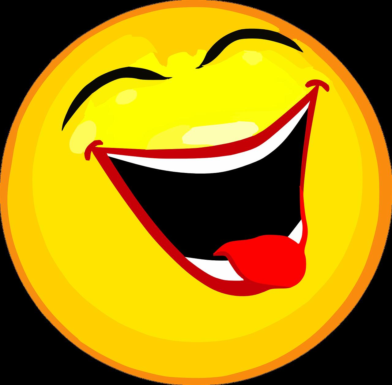 Как сделать смеющегося смайлика