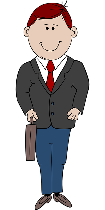 business man person free vector graphic on pixabay