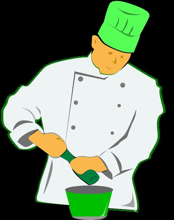 Cocinero, Molino De Pimienta, Cocinar, Condimento