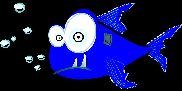 Shark Cartoon Fish · Free vector graphic on Pixabay