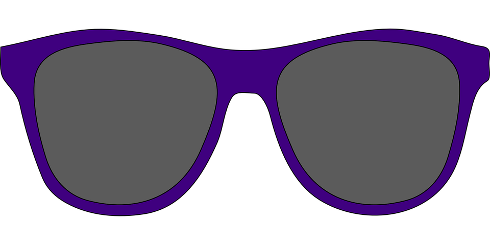 Artistic Blue Glasses Frames