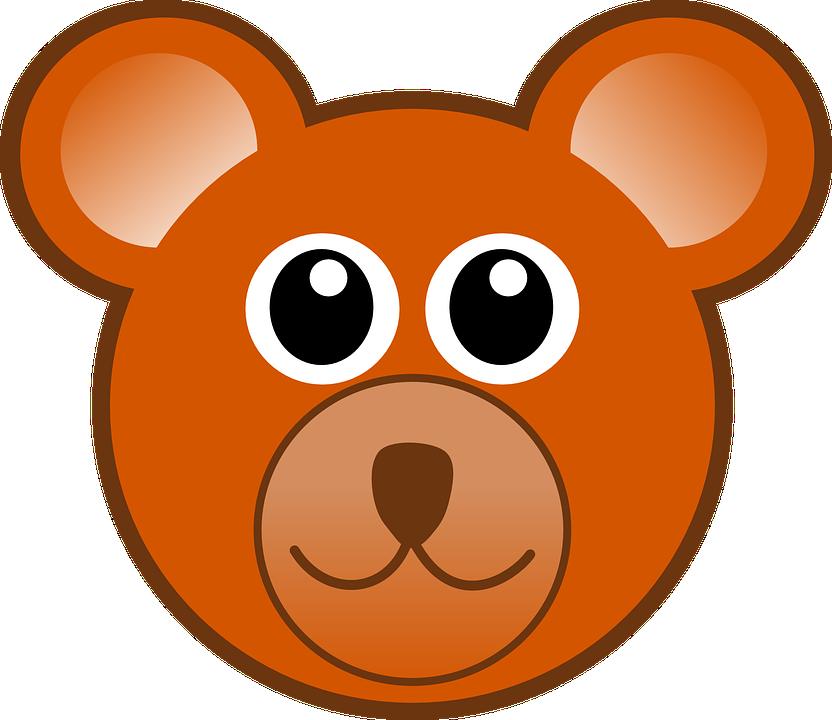 Teddy Bear Kepala Beruang Gambar Vektor Gratis Di Pixabay