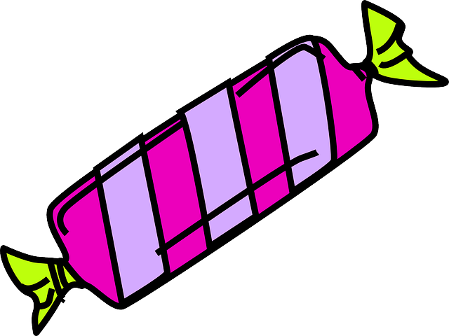 Wrapped Candy Clipart
