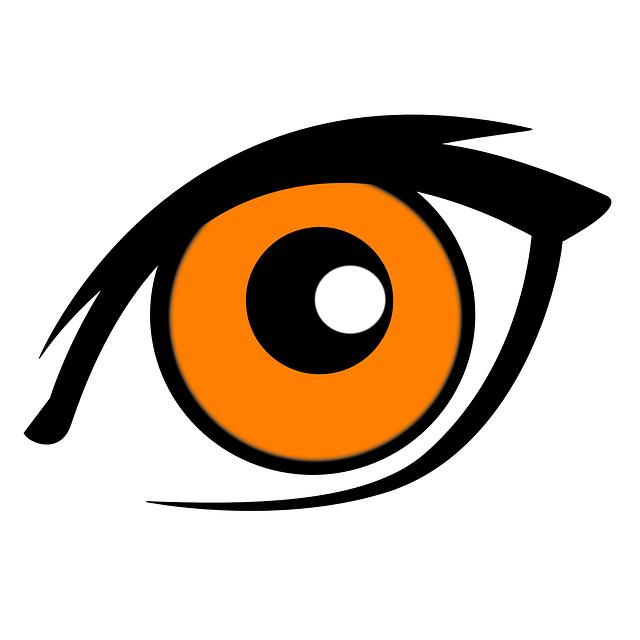 Kostenlose Vektorgrafik: Augen, Iris, Augenlid, Sehen ...