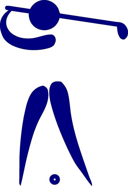 Golf Club Ball · Free vector graphic on Pixabay Golf Ball On Tee Clipart