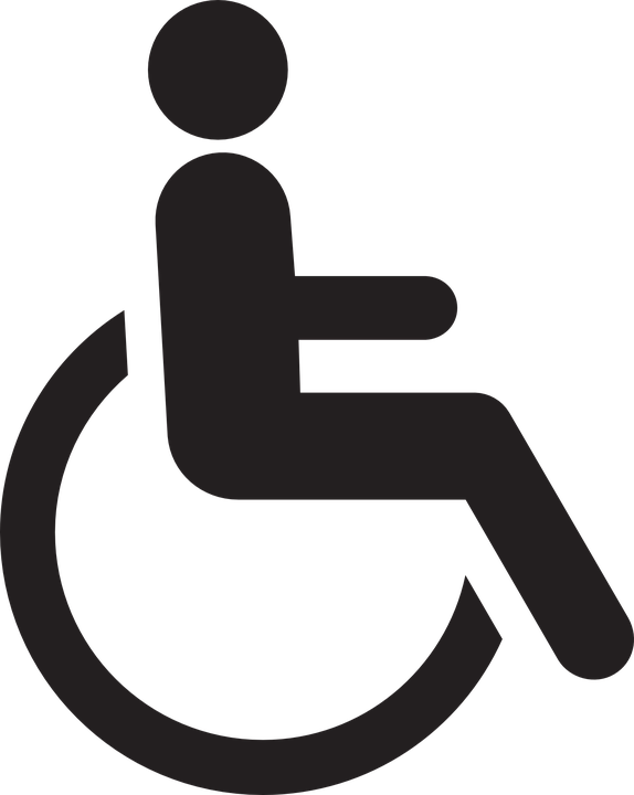 handicapped chair wheelchair free vector graphic on pixabay rh pixabay com handicap parking vector symbol handicap symbol vector art