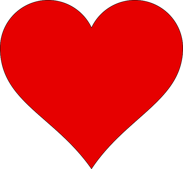 heart red love 183 free vector graphic on pixabay