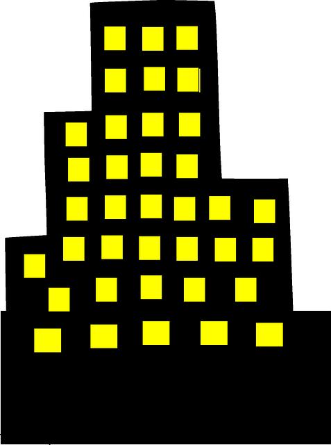 Skyscraper Downtown Architecture · Free vector graphic on ...