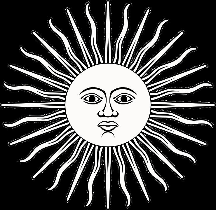 Sole Raggi Viso Grafica Vettoriale Gratuita Su Pixabay