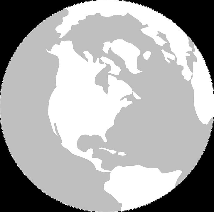 Earth Globe America · Free vector graphic on Pixabay