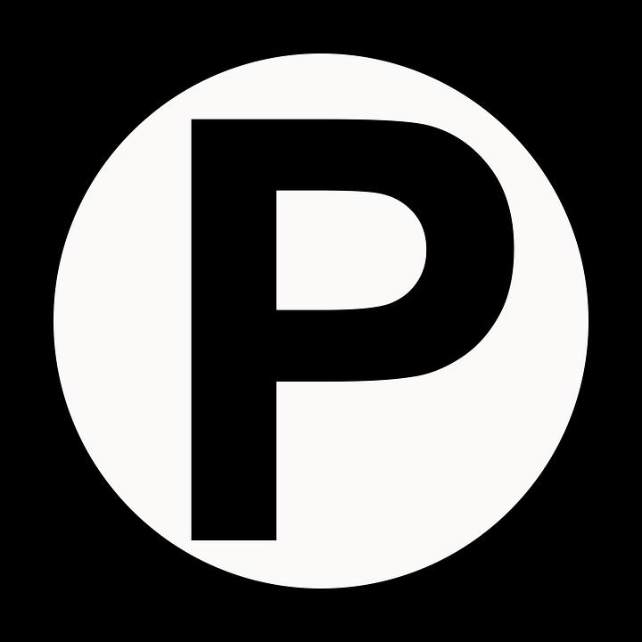 Free Vector Graphic Parking Symbol Circle Free Image