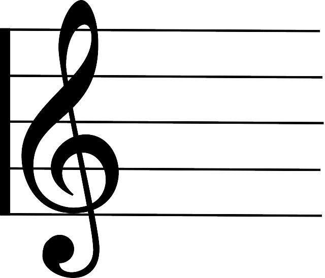 free vector graphic  treble  clef  staff  notation - free image on pixabay
