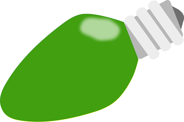 Free Vector Graphic Bulb Green Light Christmas Free Image On Pixabay 304517
