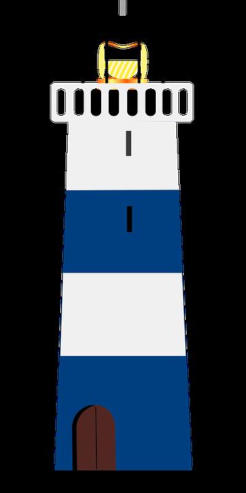 kostenlose vektorgrafik leuchtturm blau wei licht kostenloses bild auf pixabay 304496. Black Bedroom Furniture Sets. Home Design Ideas