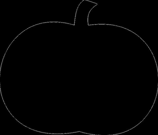 Pumpkin Silhouette Black · Free vector graphic on Pixabay
