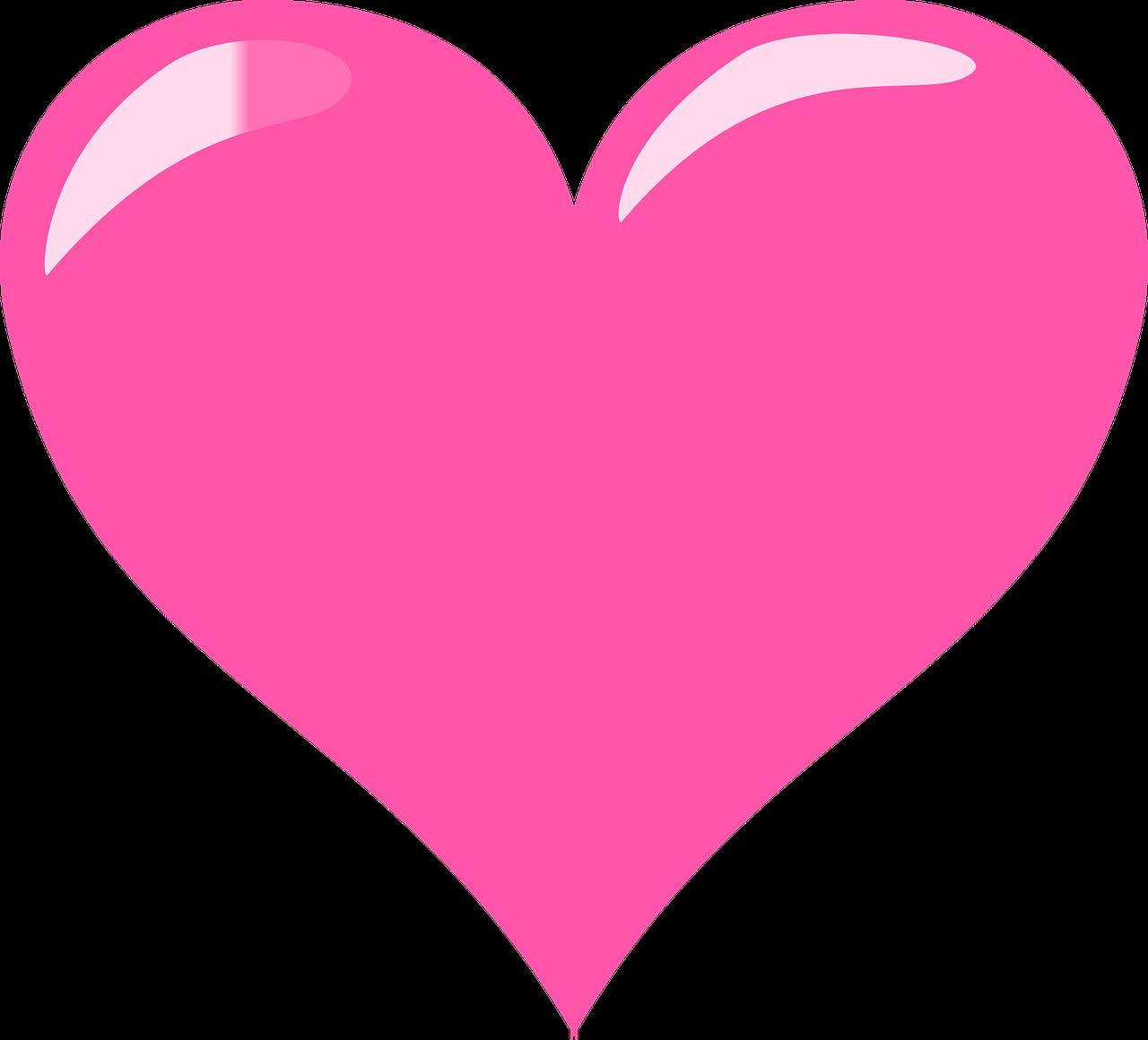 Картинка сердечки розовые