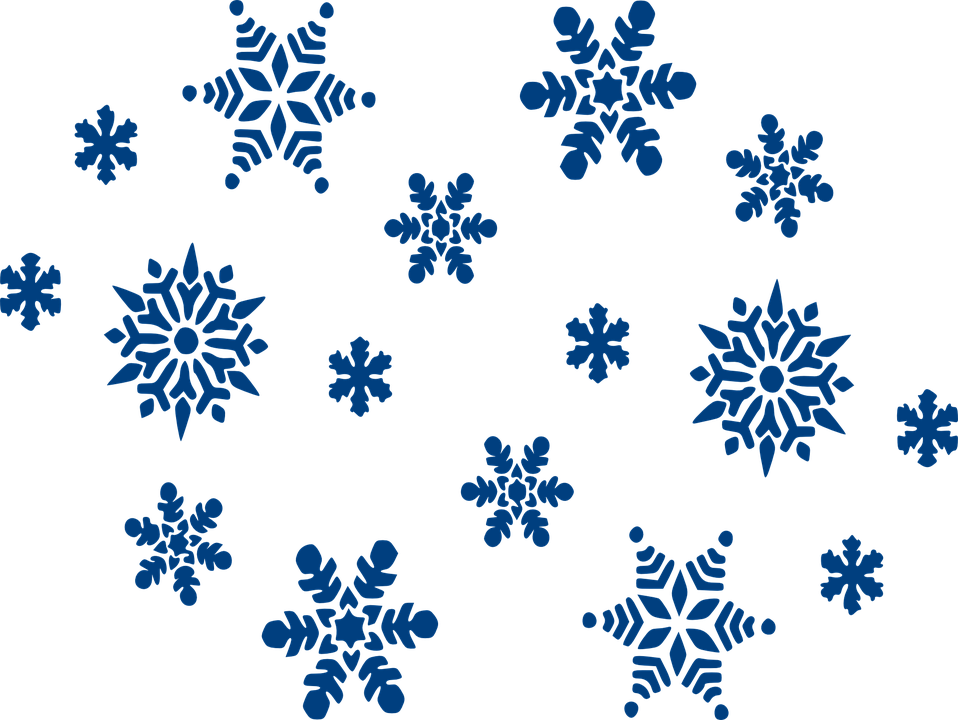 snowflakes blue sky free vector graphic on pixabay rh pixabay com free snowflake vector background free snowflake vector art