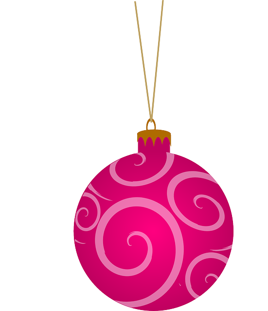 Free Vector Graphic Tree Round Pink Christmas Free