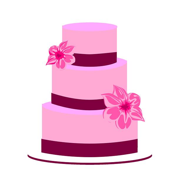 Imagem Vetorial Gratis Bolo Casamento Noiva Noivo