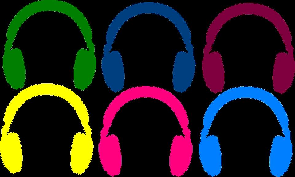 Musik, Musikaliska, Hörlurar, Ljud, Lyssna