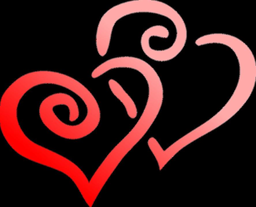 kostenlose vektorgrafik rot  herz  liebe  tag  herzen Free Clip Art Happy Valentine Day Free Valentine Clip Art Graphics