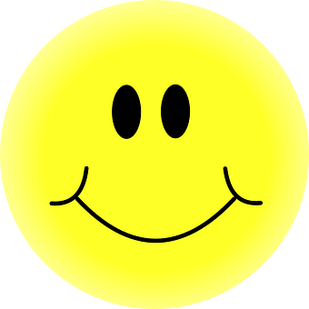 Yellow Happy Face Smiley Smiling Smil