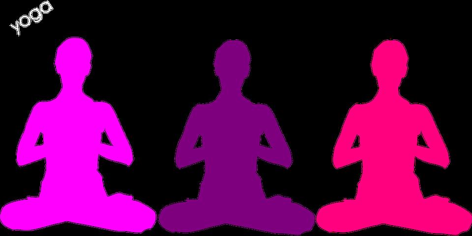 ヨガ, 禅, 瞑想, 位置, リラックス, 緩和, 新しい年齢