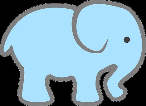 820 Gambar Kartun Lucu Gajah Gratis Terbaik