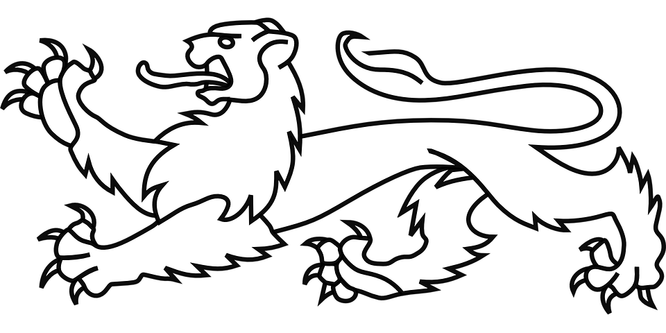 Lion Crest Symbol Free Vector Graphic On Pixabay