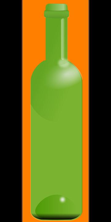 Bottiglia Vino Verde Grafica Vettoriale Gratuita Su Pixabay