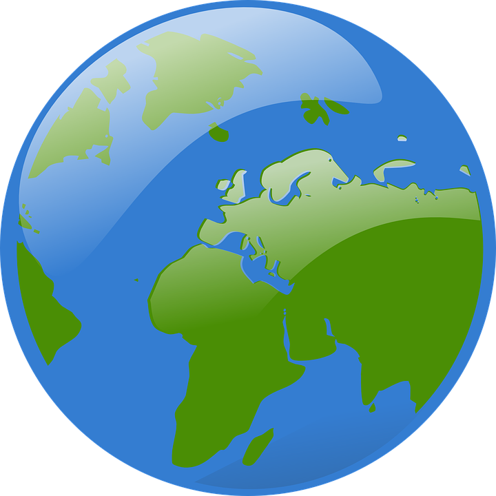 globe map world free vector graphic on pixabay