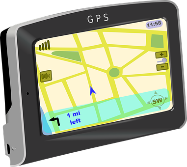 Gps Navigation Garmin Device Longitude Lat