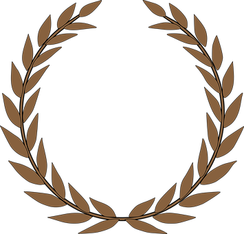 Laurel Wreath Accolade Winner Award P