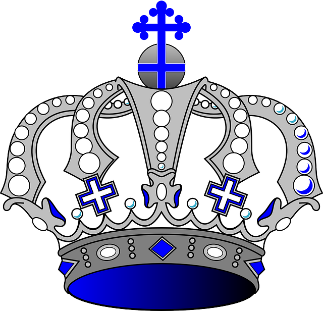 Crown King Royal 183 Free Vector Graphic On Pixabay