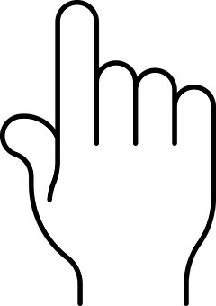 Hand Finger Pointing Index Point Sign