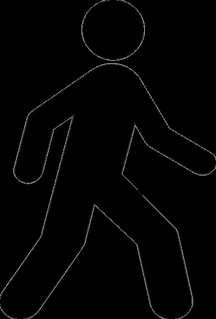 Walking People Logo L'Homme Personne Symbo...