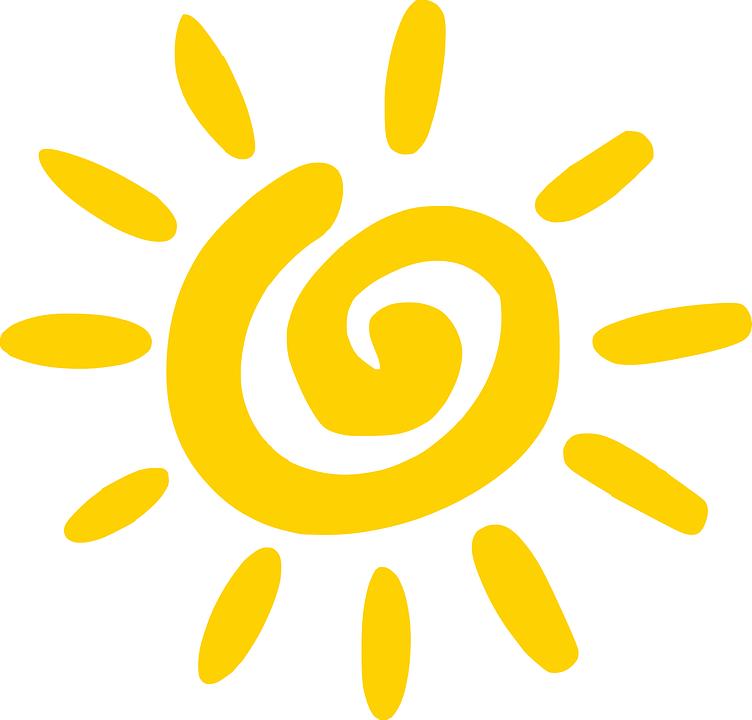 Sonne, Himmel, Leuchten, Glänzend, Licht, Sonnig