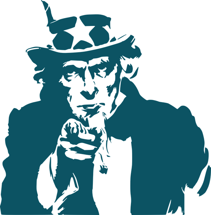 uncle sam hat stars free vector graphic on pixabay rh pixabay com Black Uncle Sam We Need You uncle sam we need you clip art
