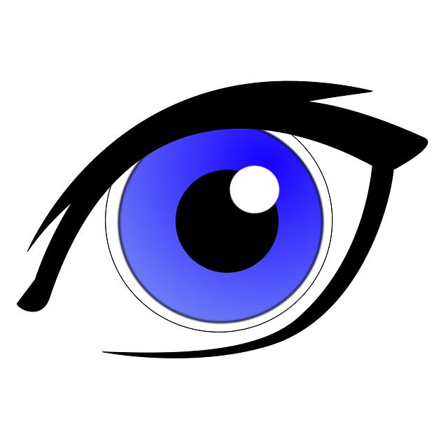 eye eyes clipart clip eyeball vector cartoon vision iris eyeliner clker sight liner graphic clipartpanda use cliparts looking panda clipartbest