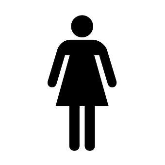 restroom bathroom sign ladies women symbol - Girl Bathroom Sign