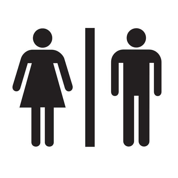 Restroom Bathroom Sign Free Vector Graphic On Pixabay - Ladies bathroom sign