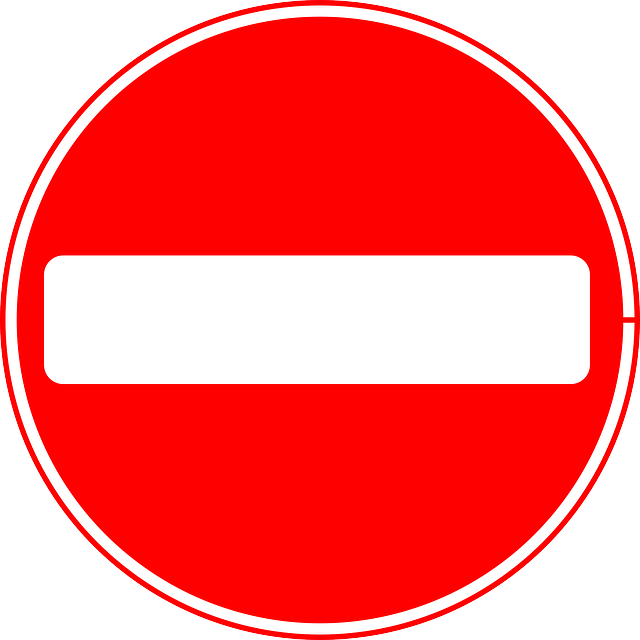 Sign Do Not Enter Wrong Way 183 Free Vector Graphic On Pixabay