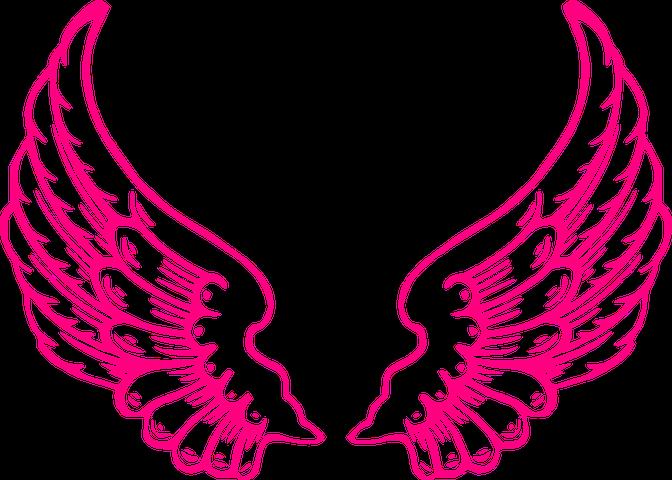 Крылья детские рисунки