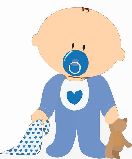 Baby Boy Toys Clip Art : Baby boy teddy · free vector graphic on pixabay