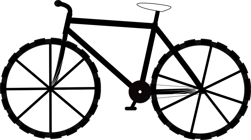 bike bicycle side free vector graphic on pixabay rh pixabay com Road Bike Clip Art Bike Clip Art Black and White